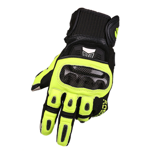 Image 2 - MOTOBOY Motorcycle Gloves Carbon Fibre Motocross Gloves Sheepskin Moto Gloves Touch Function Motorbike Gloves Guantes Luvas