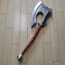 Cosplay 1:1 World Of Warcraft Battle Axe Hot Game Movie Anim