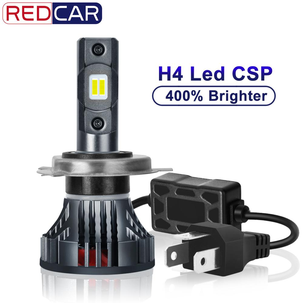 H4 Led Motorcycle Headlight 9003 HB2 6000LM 35W Hi/lo Light CSP Motor Bike Lamp Super Bright White 12V LED Motor Head Scooter
