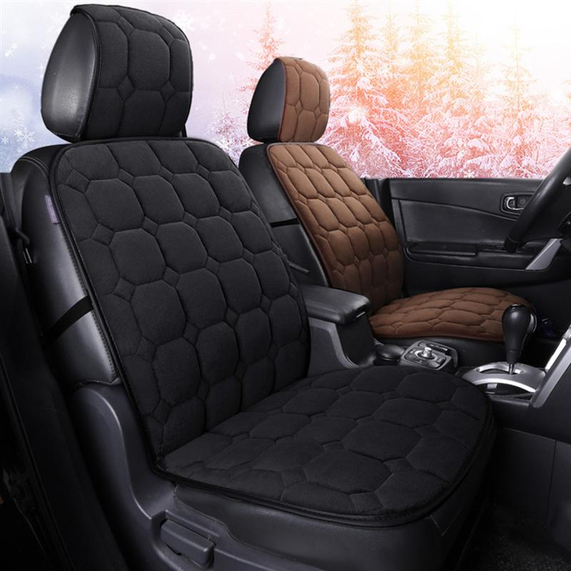 Auto Car Winter Autumn Plush Front Rear Seat Cover Pad Protector Cushion mat new