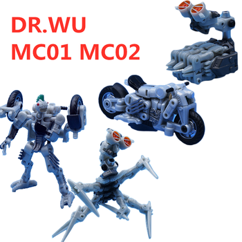In Stock Transformation Dr.Wu & Mechanic Studio MC02 MC01 Scalpel Mohawk Microscope PVC Action Figure Model Robot Toys With Box [show z store] 4th party mp36 mightron mp 36 masterpiece new in box transformation action figure
