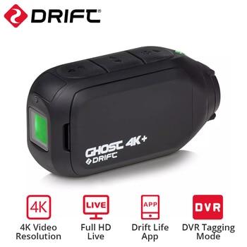 Drift Ghost 4k+ Plus HD Motorcycle Bicycle Bike Body Worn Helmet Sport Cam with Wifi App Control 1950mAh Battery Action Camera 1