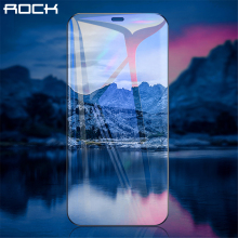 ROCK Full Coverage Tempered Glass for iPhone 12 Pro Max Screen Protector Scratch Resistant Advanced HD Glass for iPhone 12 Mini