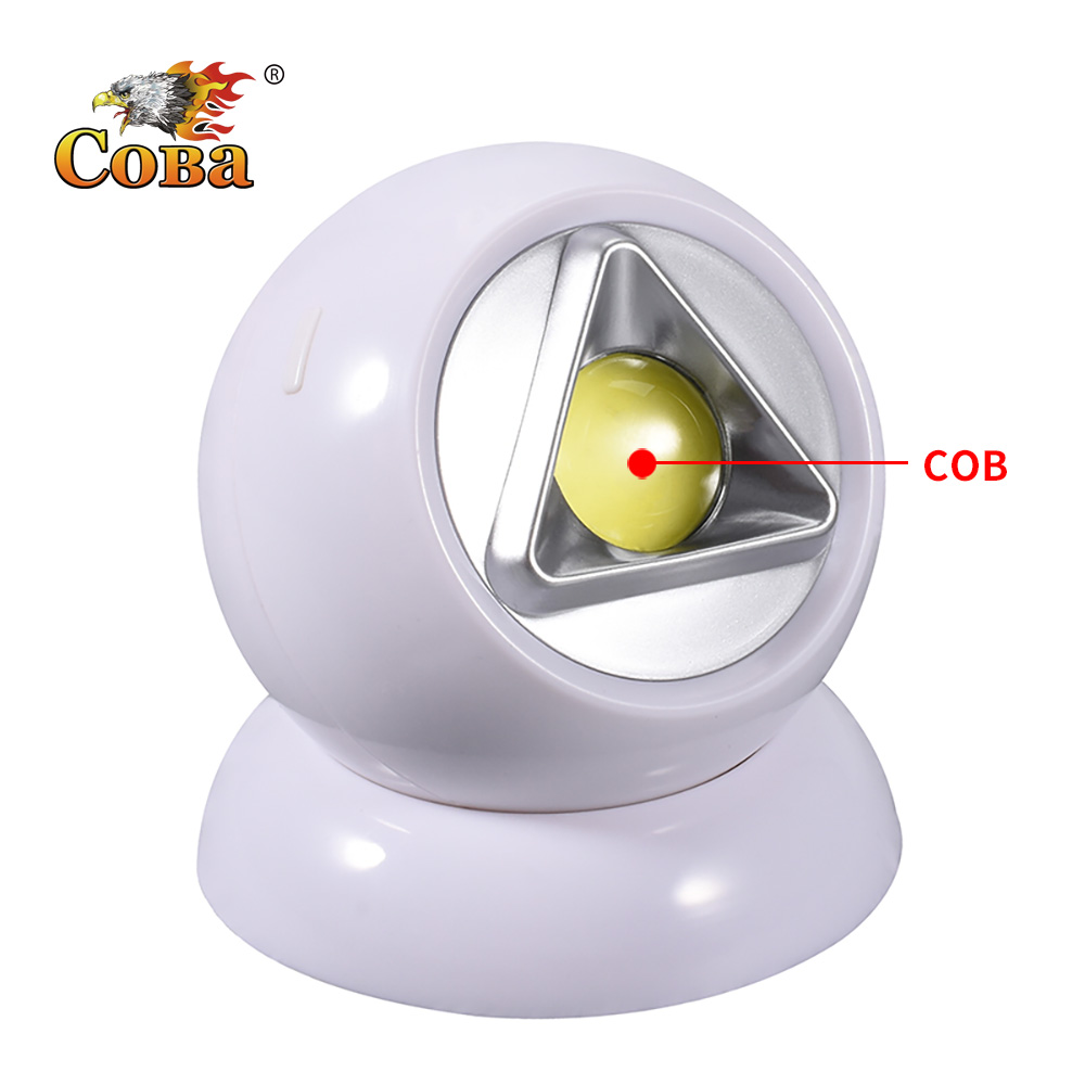COBA Led Tent Light Cob Camping Lamp House Of Novelty Gift Use 3*AAA Battery Waterproof Magnetic Plastic 2019 New Arrival Light