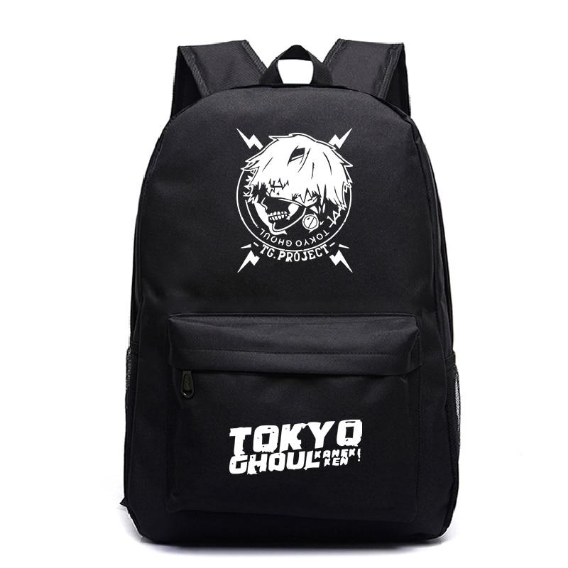 Tokyo Ghoul Print Backpack Men Backpack Fashion Laptop Backpack Travel Backpack Backpack