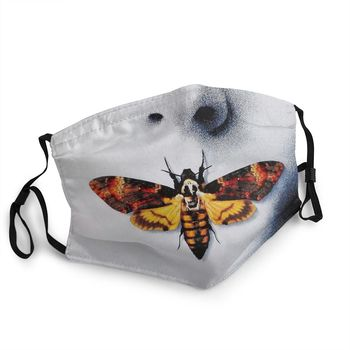 Silence Of The Lambs Unisex Reusable Face Mouth Mask Printed Anti Haze Protection Cover Respirator