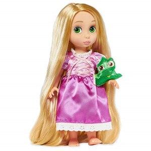 Image 4 - ディズニー 10 スタイルプリンセスアクションフィギュアおもちゃベルシンデレラ白雪の妖精ラプンツェル人形アリエル人形装飾の子供のギフト
