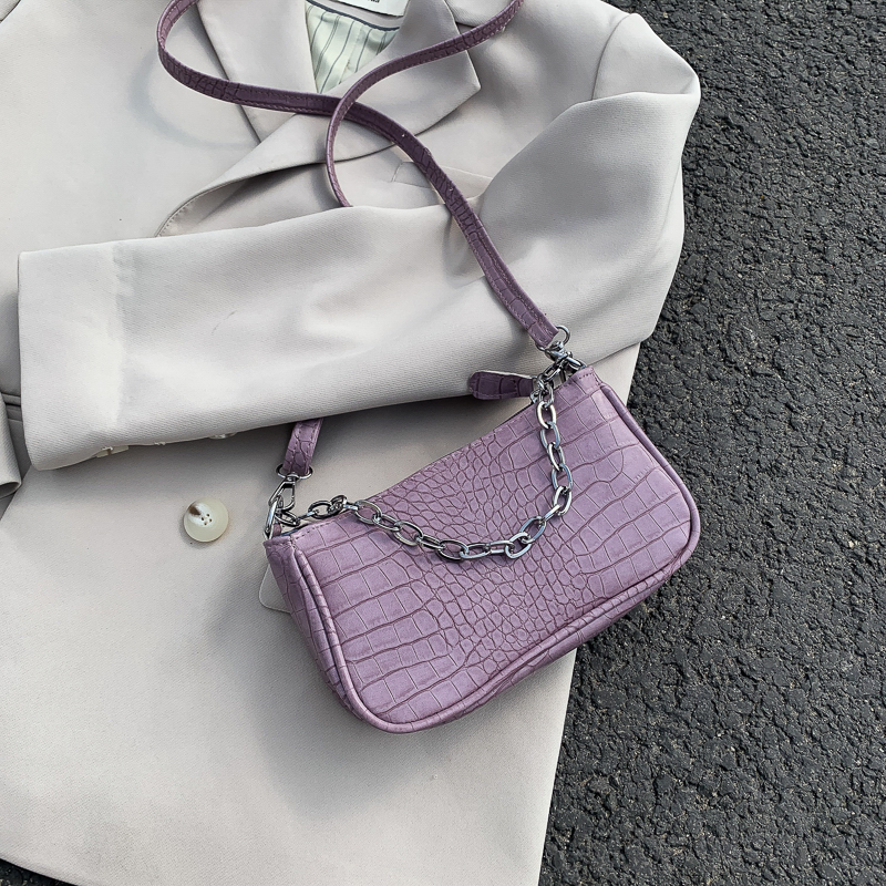 Small PU Leather Crossbody Bags For Women 2020 Solid Color Shoulder Handbags Female Travel Solid Color Cross Body Bag