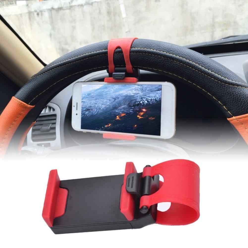 Gran oferta soporte para coche Mini soporte de ventilación para volante de aire soporte de Clip para teléfono móvil soporte de teléfono móvil Universal para soporte de iPhone