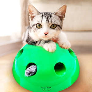 Image 1 - 2019 New Cat Toy Pop Play Pet Toy Ball POP N PLAY Cat Scratching Device Funny Traning Cat Toys For Cat Sharpen Claw Pet Supplies