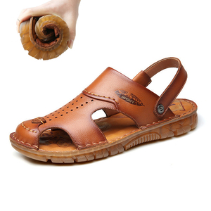 Men 100% Cow Leather Sandals O