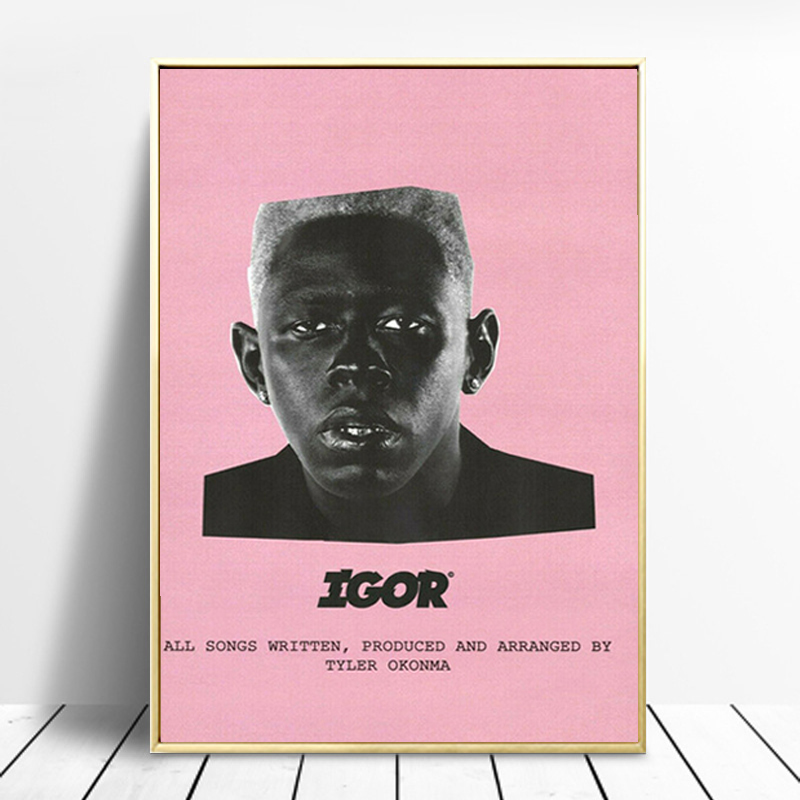 Tyler The Creator Igor Posters and Prints Rap Music Album Stars Canvas Painting Wall Art Picture Room Home Decoration Cuadros image