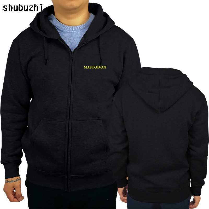 Sudadera con capucha negra para hombre Mastodon, el Emperador de la arena, sudadera de algodón de otoño y primavera de marca de moda sbz4259