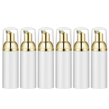 10Pcs 50Ml Empty Bottles Travel Soap Plastic Foam Dispenser Mini Pump Dispensers Cleaning, Travel, Cos