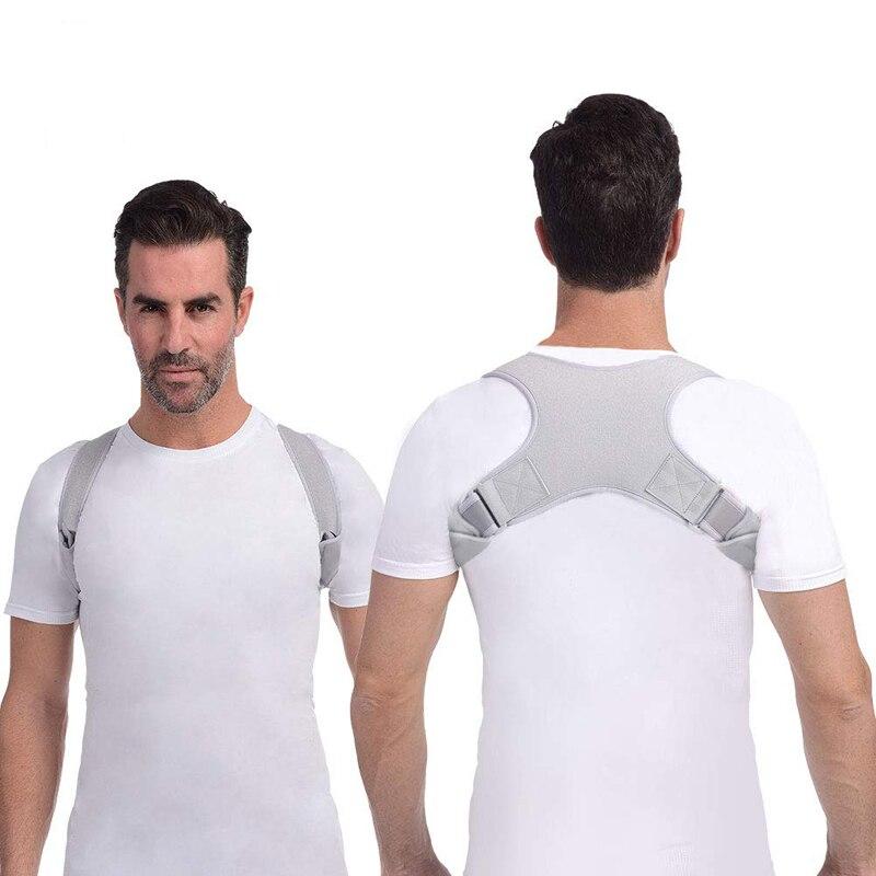 Upper Back Support Men Women Back Posture Corrector Adjustable Posture Correction for Spine Shoulder Neck Medical Back Corset
