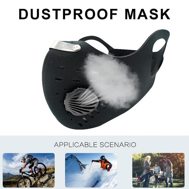 Anti Dust Mask For Mouth Pm2.5 Dust Respirator Wholesale Breath Anti Odor Pollution Running Sports Maska Anti Allergy Flu 1