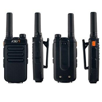 1 Or 2PCS KSUN X65 Talkie Walkie Scanner  UHF Walkie Talkie 10KM Two Way Ham Radio Station Radio  Comunicador Walkie-talkie 2
