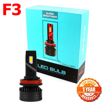 F3 led 90W H4 H7 h4 H8 H11 h13 coche faros LED Bombilla Luz de niebla H7 H11 H8 9005 9006 H1 880 LED faro de coche Kit