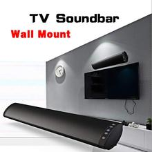 цена на 20W Wired and Wireless Connected TV Soundbar Column Bluetooth 5.0 Speaker Home Theater System HiFi Stereo Support TF USB RCA PC