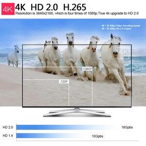 Image 5 - 2019 MK809 IV Android 7.1 przystawka do telewizora RK3229 Quad Core 2 GB/16 GB 1 GB/8 GB UHD 4K HD 3D mini PC H.265 WiFi DLNA inteligentny odtwarzacz multimedialny