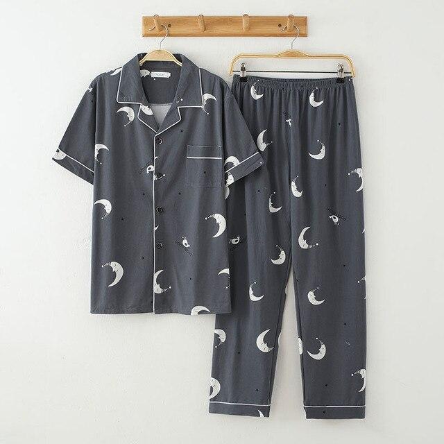 Пижама мужская с коротким рукавом 6