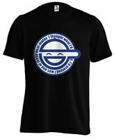 Laughing Man Ghost In The Shell Stand Complex Anime Manga T shirt Tee
