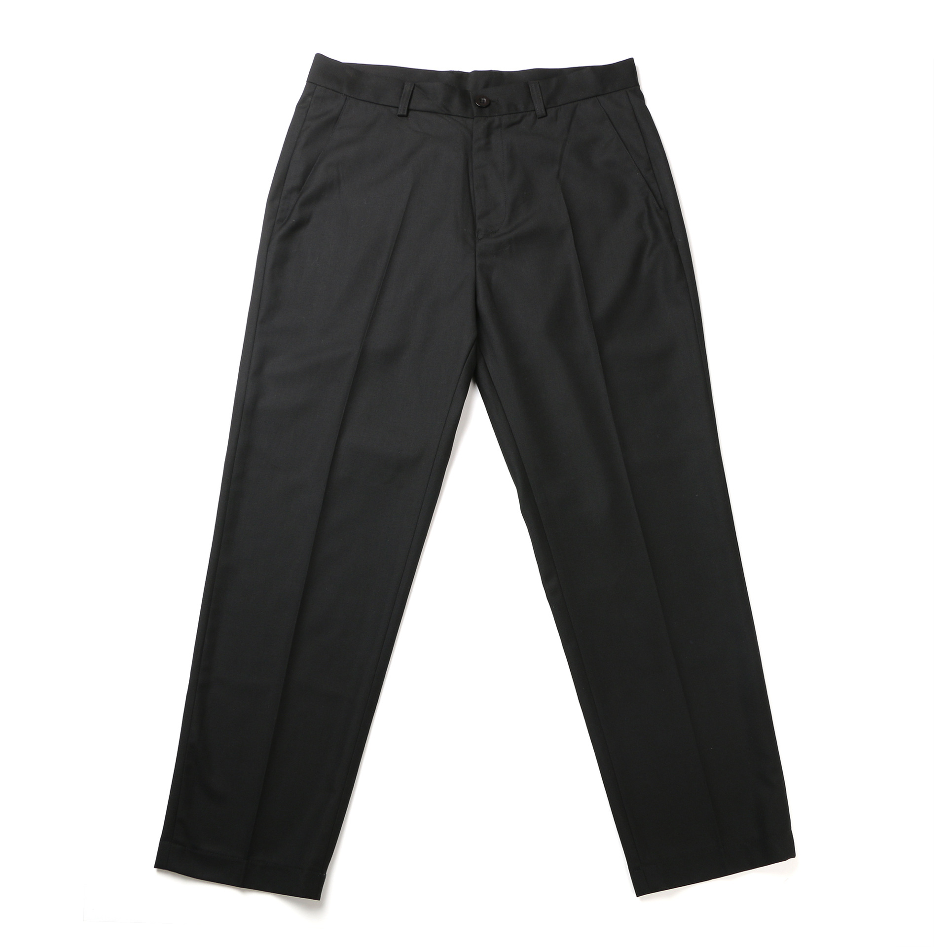 19ss Capri Casual Trousers Hot Raphe Japanese-style Dark Gray Black And White With Pattern South Korea Suit Pants Casual Pants