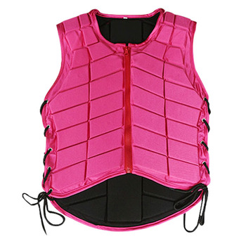 Horse Riding Vest Equestrian Body Protector Safety EVA Padded Breathable Adjustable Waistcoat 8 Sizes to Select