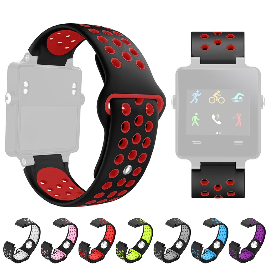watchband Wrist Strap For Garmin Vivoactive acetate Band Double Color Silicone Wristband Straps Sports Watchband #y4