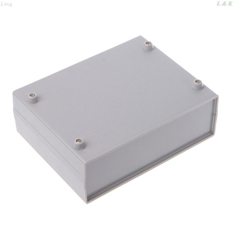 Plastic Electronic Project Box Enclosure Instrument Shell Case DIY 130x170x55MM