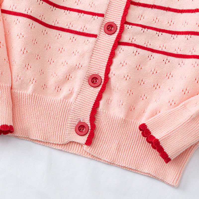 2020 New Autumn Lovely Cotton Sweater Cardigan Top Children's Clothing Baby Girls Knitted Cardigan Sweater Kids Spring Wear 5