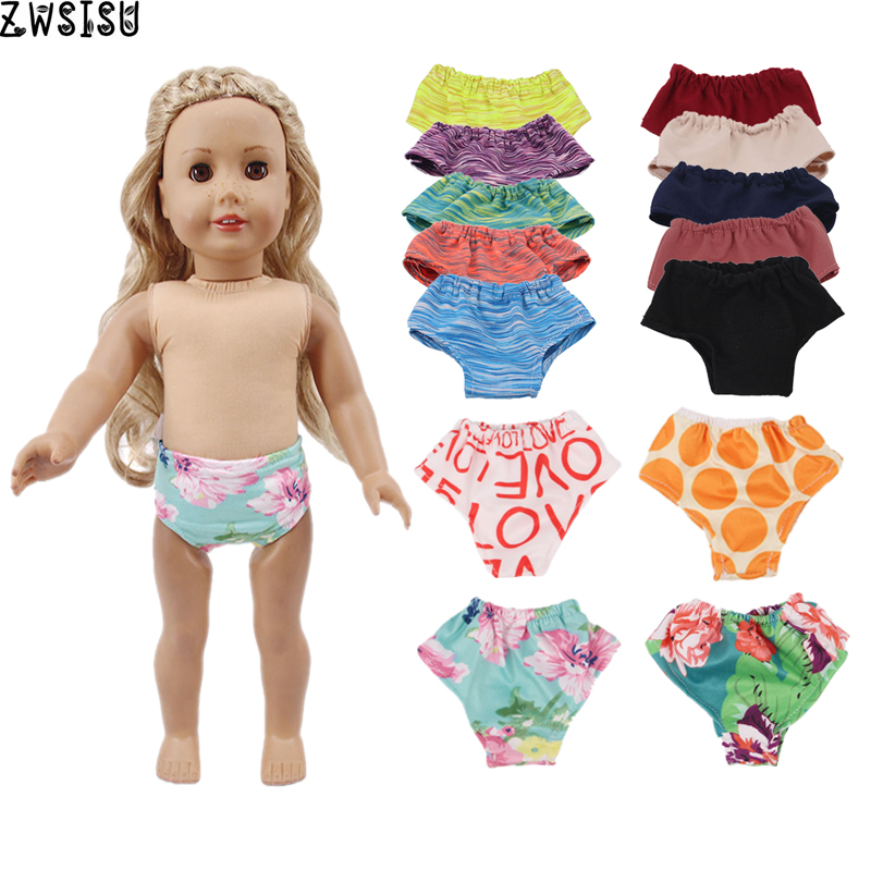 American Girl Doll Panties Underwear Doll Clothes 18 Inch American 43cm New