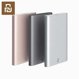 Image 1 - Original Youpin Rice Card Case Men Women Business Metal Wallet Card Holder Aluminum Smart Card Case Can Bank Card