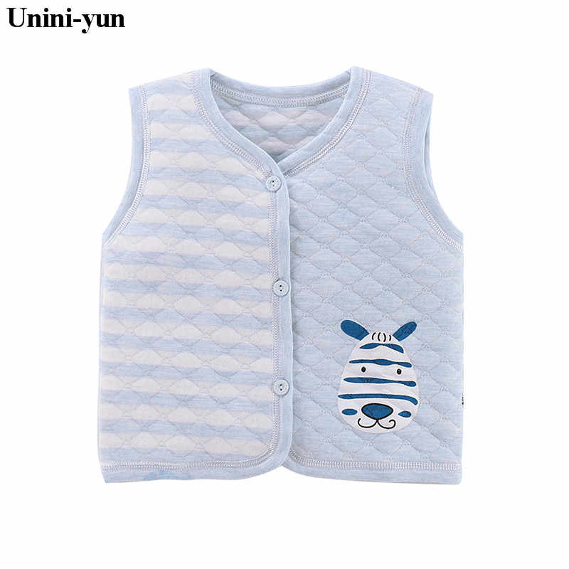 Baby's Clothing Vests & Waistcoats Cotton Vest for Baby Girl Boy Winter Autumn Warm Vest Children Sleeveless Jacket Coats