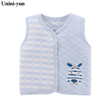 Baby's Clothing Vests & Waistcoats Cotton Vest for Baby Girl Boy Winter Autumn Warm Vest Children Sleeveless Jacket Coats