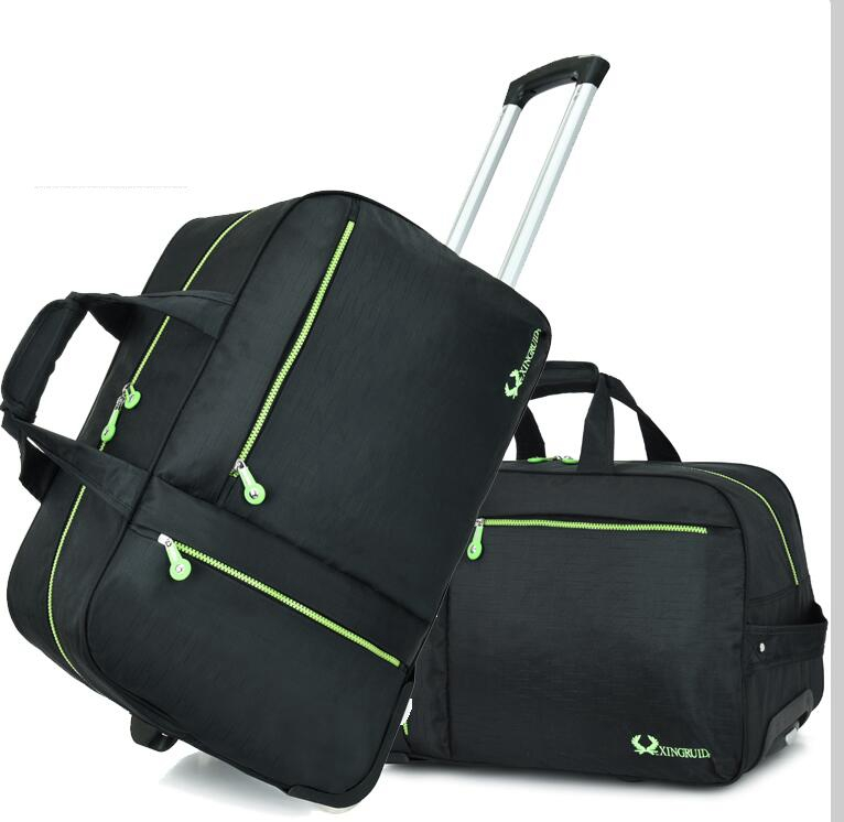 carry on luggage Rolling bag wheeled trolley bag Travel Luggage Bag Travel Boarding bag with wheel travel cabin Baggage suitcase Сумка