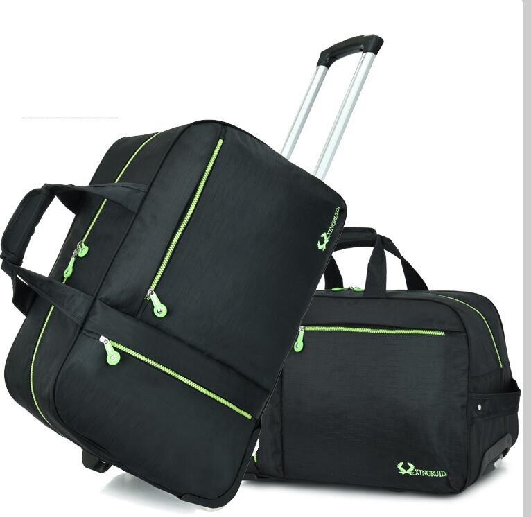 Przenoszenia na bagaż torba wózek na kółkach torba podróżna torba na bagaż podróży torba na pokład z kołem podróży bagażu kabinowego walizka w Torby podróżne od Bagaże i torby na  Grupa 1