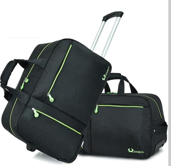 carry on luggage Rolling bag wheeled trolley Travel Luggage Bag Boarding with wheel travel cabin Baggage suitcase - discount item  12% OFF Travel Bags