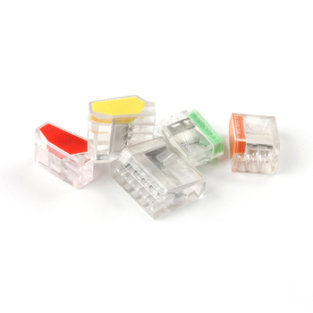 Mini Quick Conectors Universal Compact PCT 252 253 254 255 Wiring Conductor Push-in Terminal Block LED Conector image