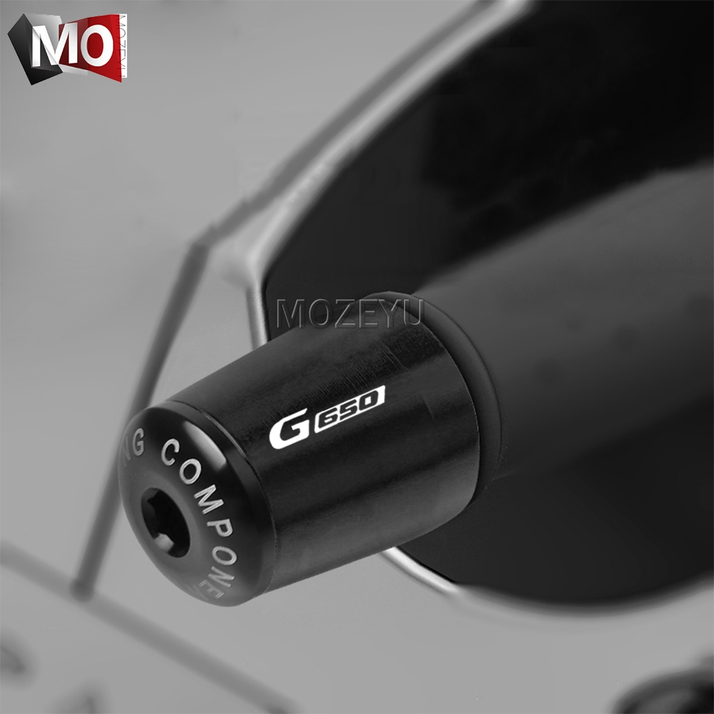 "7/8"" 22mm Motorcycle Handlebar Grips End Handle Bar Cap End Plug For BMW G650 G650GS Sertao G650 X Xchallenge/Xcountry/Xmoto(China)"