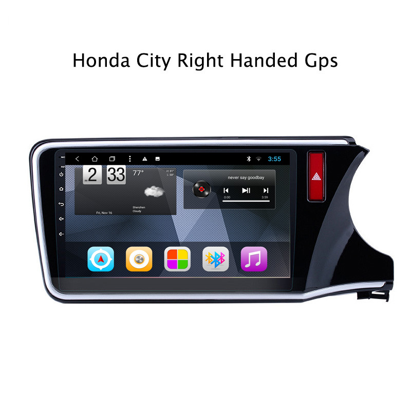 Cheap Octa Core Android 8.1 Car DVD GPS Navigation For Honda City Greiz Gienia 2015-2018 Radio Stereo with Mirror Link 0