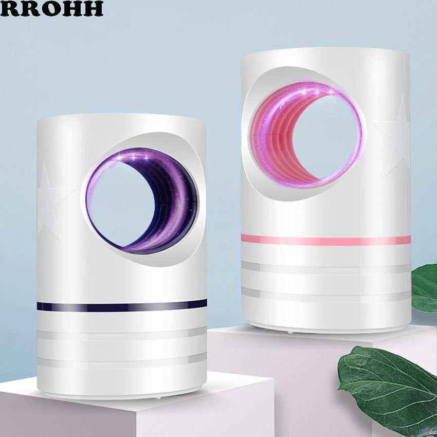 Ultraviolet USB Mosquito Killer Home Safety Mosquito Killer Physical Mosquito Repellent Baby Pregnant Woman Pest Control Lamp