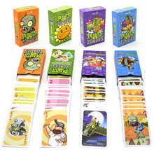 1 Set Poker Papier Kaarten Planten Vs Zombies Tuin Warfare Zonnebloem Erwt Zaad Piraten Zombie Verzamelen Card Kid Gift Toy