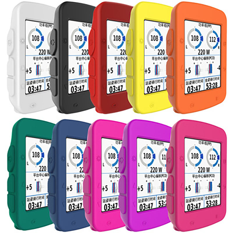 Bicycle <font><b>GPS</b></font> <font><b>Computer</b></font> Silicone Case Gel Skin Cover for Garmin edge 520 820 <font><b>Bike</b></font> <font><b>Computer</b></font> Waterproof Stopwatch image