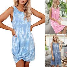 Горячая Распродажа женской одежды 2020 летнее градиентное женское