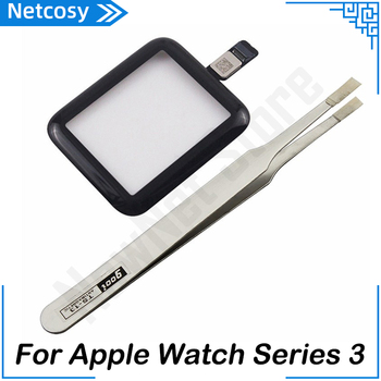 For Apple Watch S3 Touch Screen Digitizer Glass Panel Replacement parts For Apple Watch Series 3 38mm 42mm Touch Panel & Gift image