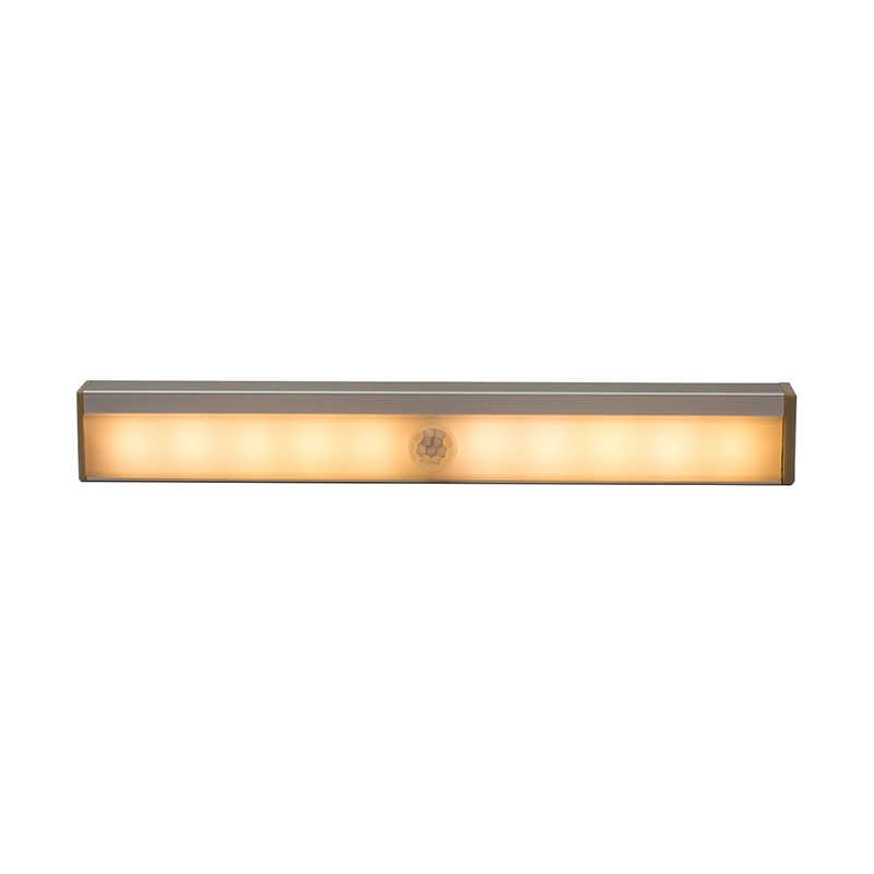 Dozzlor с питанием от USB зарядка ночник беспроводной датчик Светодиодная лампа белый корпус освещение для гардероба