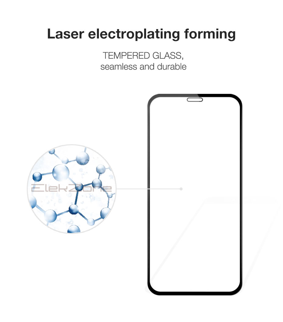 Full-Cover Screen-Protector Glass iPhone Xs 8-Plus 5pcs/Lot 6s for Max-Xr HD 6s/7/8-plus/..