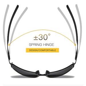 Image 4 - Aoron Gepolariseerde Zonnebril Heren Klassieke Zonnebril UV400 Coating Lens Aluminium Frame Rijden Brillen Voor Mannen