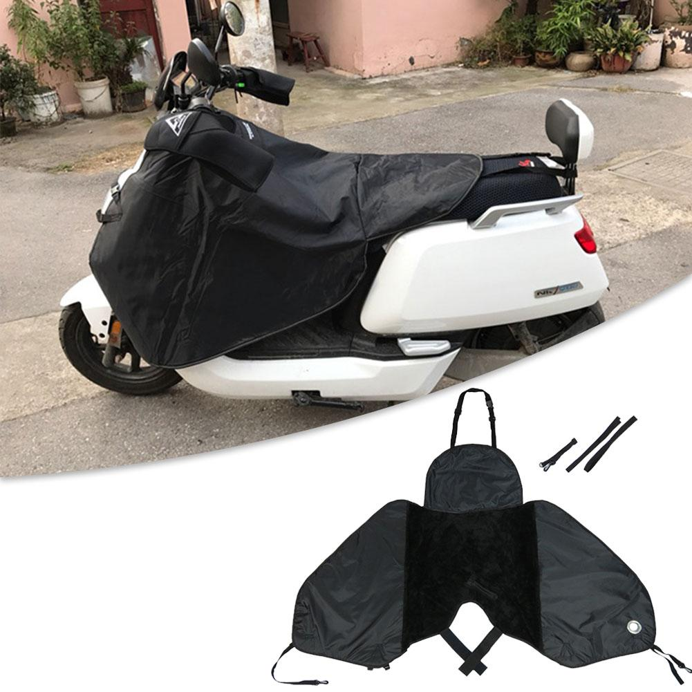 Motorcycle Scooter Windshield Quilt Winter Riding Windproof Cotton Knee Waist Leg Cover Electric Motorcycle Windproof Cover